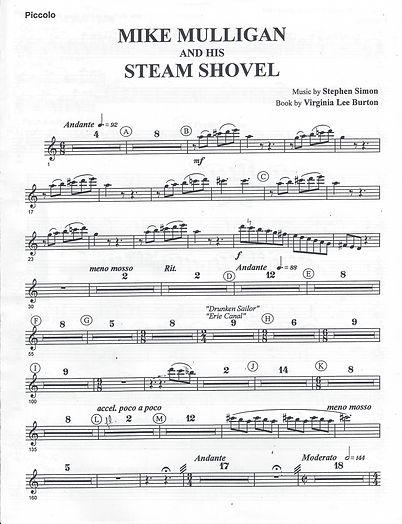 Mike Mulligan sheet music