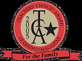teacher's choice award