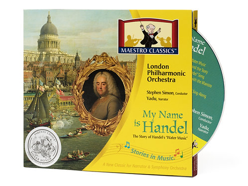 My Name is Handel: The Story of Water Music CD