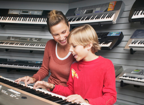Keyboards: Your Computer, Your Piano, and Your Child