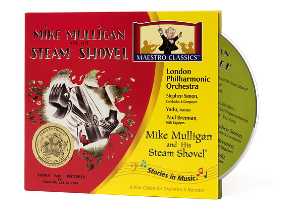 Mike Mulligan and His Steam Shovel CD