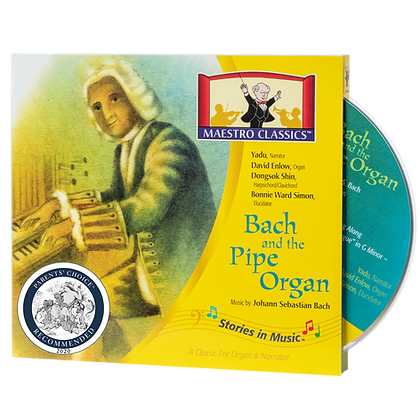 Bach and the Pipe Organ CD