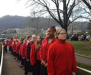 Lined up at Inauguration.jpg