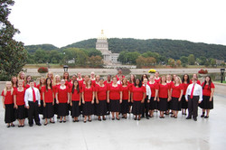 Concert choir_in front of Capitol