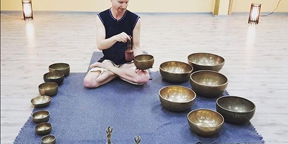Медитация с поющими чашами
