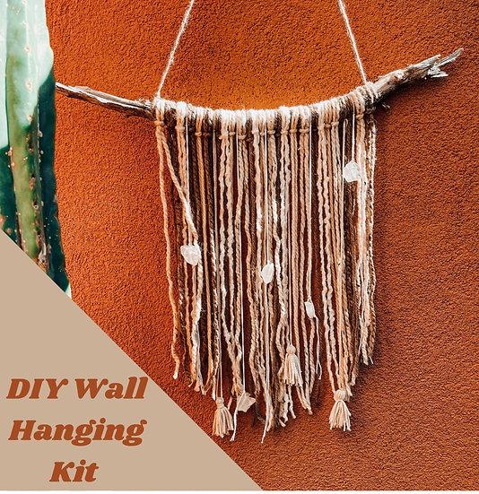 DIY Boho Wall Hanging - Desert