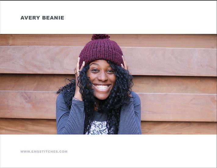 Avery Beanie Pattern