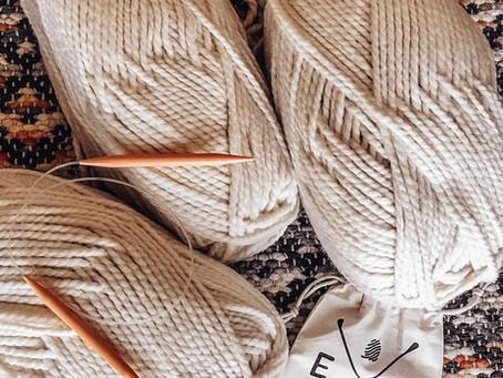 Beginner Blanket Knit Kit!