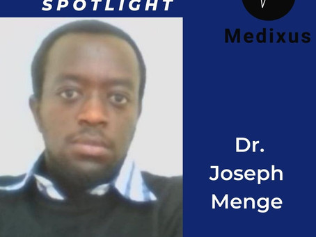 Upclose with Dr. Joseph Menge