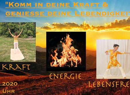 Kraft, Energie & Lebensfreude - IntensivTag zur Sommersonnenwende