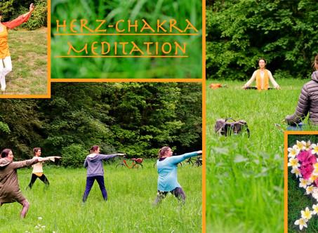 Die Herz-Chakra-Meditation - Open Air               10. Juli + 14. August 2020, 18 Uhr