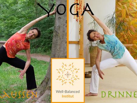 Yoga in der Sommerzeit - flexibel Indoor & Outdoor