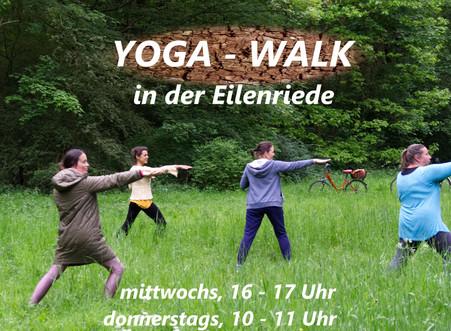 Yoga-Walk | Gemeinsam bewegen, durchatmen und Kraft schöpfen in der Natur