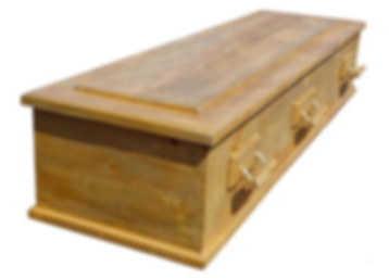 handmade coffin reclaimed timber abbey casket recycled