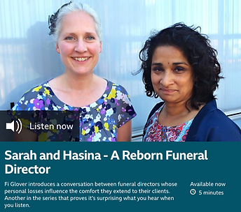 east london funerals modern funeral director compassionate eco funerals hasina zaman compassion bbc listening project