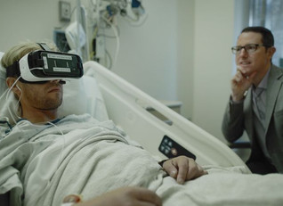 Royal Trinity Hospital use VR to help patients tick off their bucket lists.