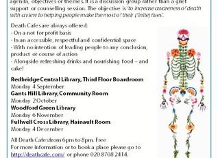 Death Cafe Redbridge Libraries
