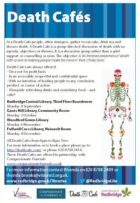 Gants Hill Library - Death Cafe Series