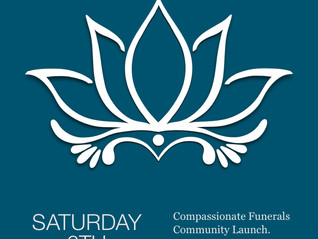 Compassionate Funerals community launch - Saturday 6 February 2016
