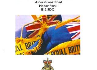 Royal British Legion Ceremonial Cremation of 27 Standards