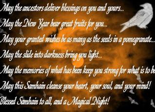 Blessed Samhain - 31st October