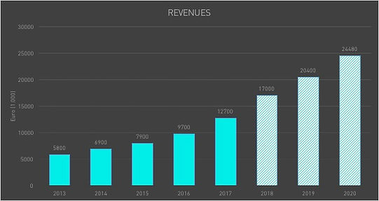 Pintotecno - Revenues Growth