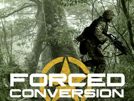 Cover Reveal for Forced Conversion Re-Release Just in Time for Father's Day