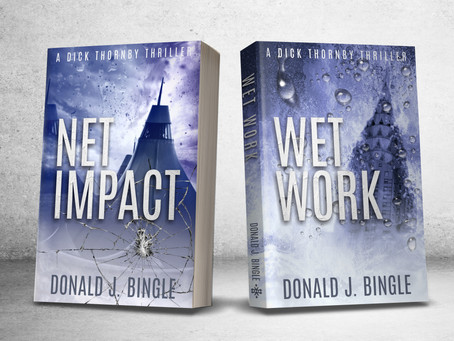 Release Day for Dick Thornby Spy Thrillers
