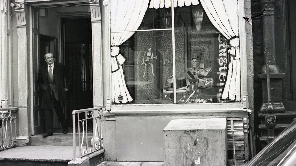 Lower East Side NYC 1981  Limited  - Signed limited edition Print on art paper