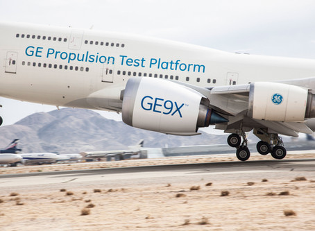GE Aviation Starts Flight Testing the GE9X