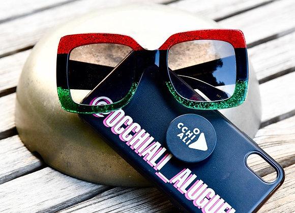 Gucci Glasses Tricolor