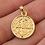 Thumbnail: Pingente Medalha de São Bento no Dourado