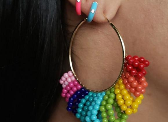 Argola G Rainbow