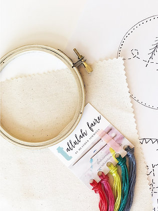 Abstract Embroidery Kit