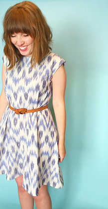 The Swing Dress in Ikat
