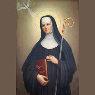 Santa Escolástica