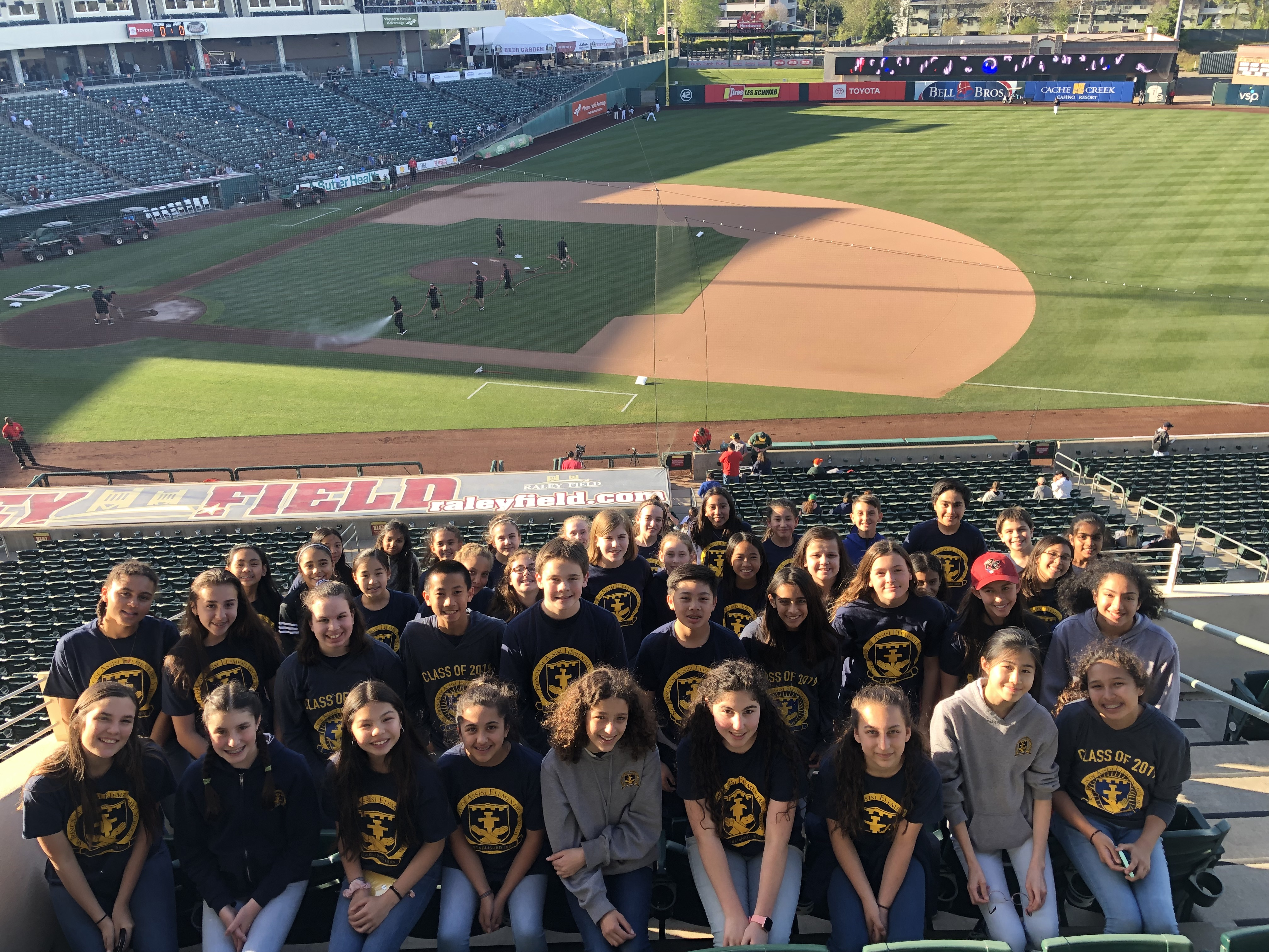 The Choir at Raley Field