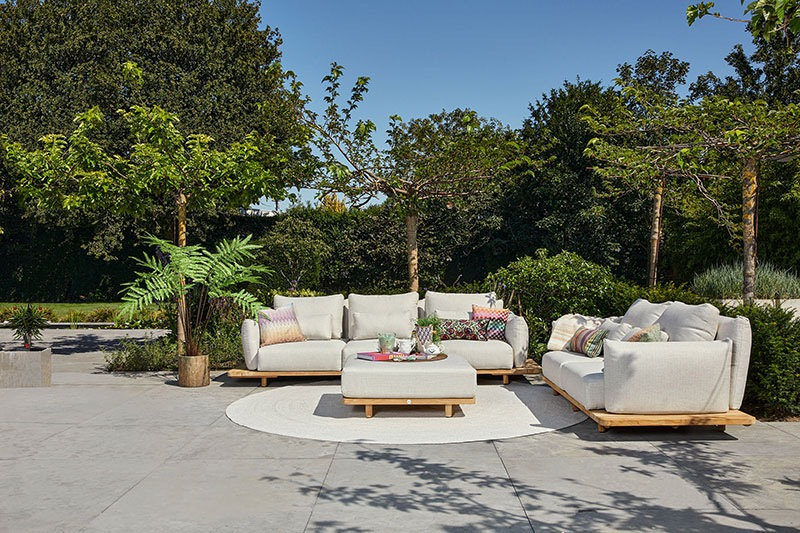Luxusní zahradní sedací souprava
