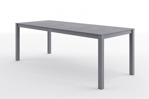 Záhradný hliníkový stôl OVIEDO sivý
