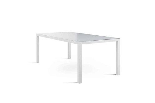 Záhradný hliníkový stôl OVIEDO biely