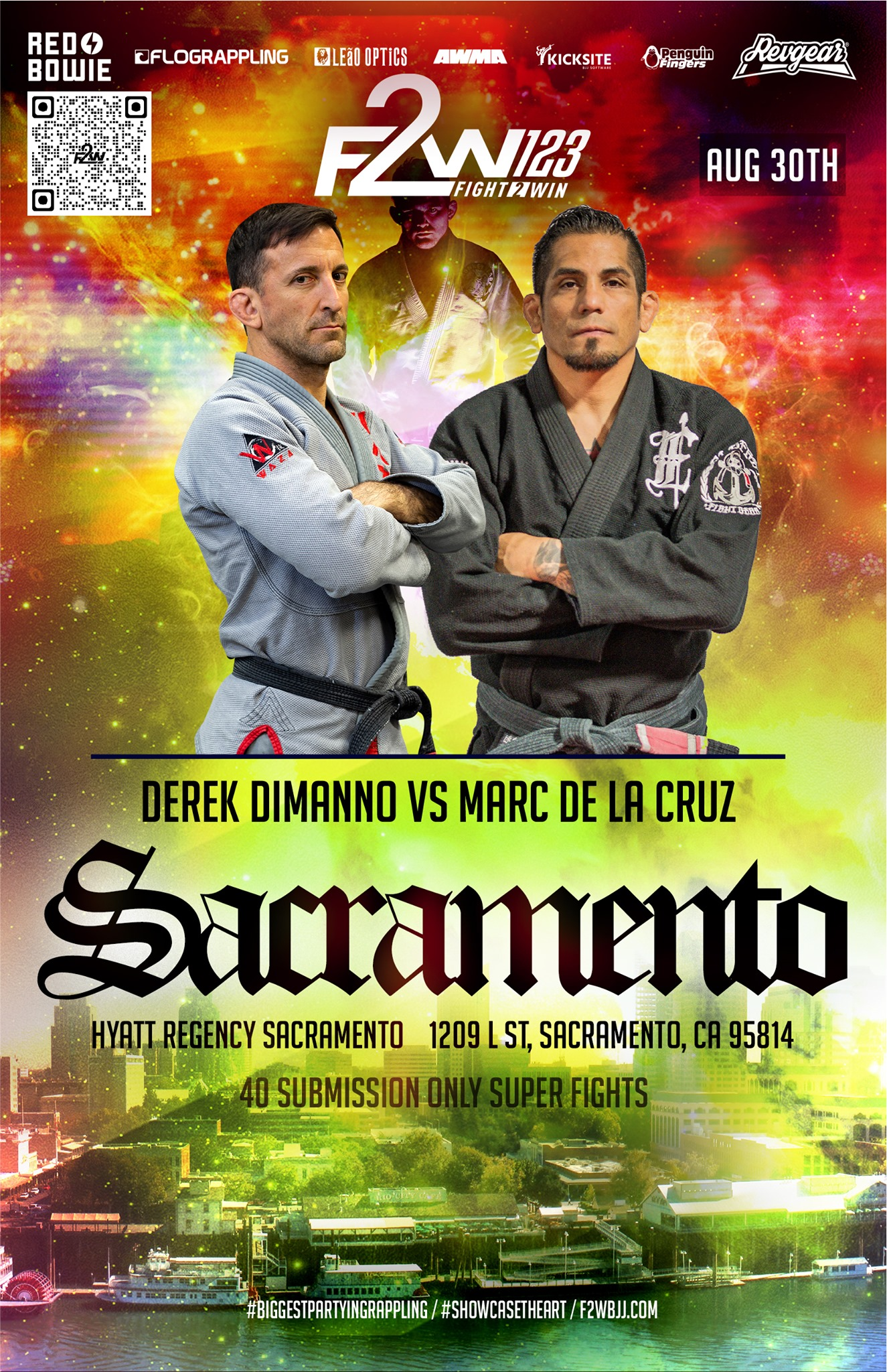 Fight to Win DeLaCruz poster
