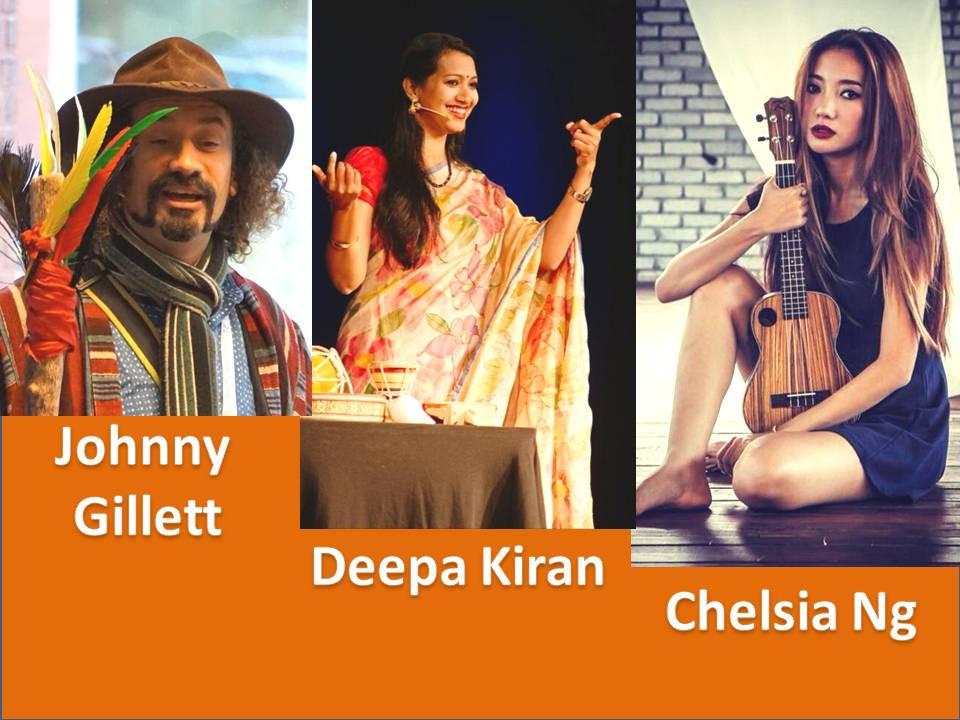 Johnny Gillet/Deepa Kiran/Chelsia Ng