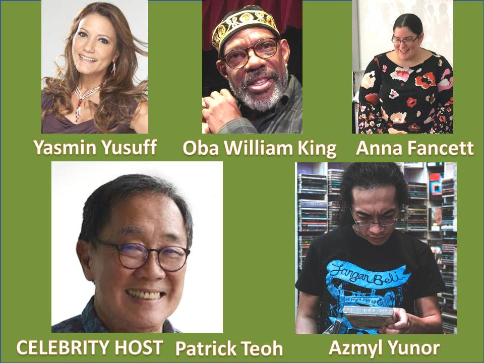 Patrick Teoh/Yasmin Yusuff/Oba William King/Azmyl Yunor/Anna Fancett