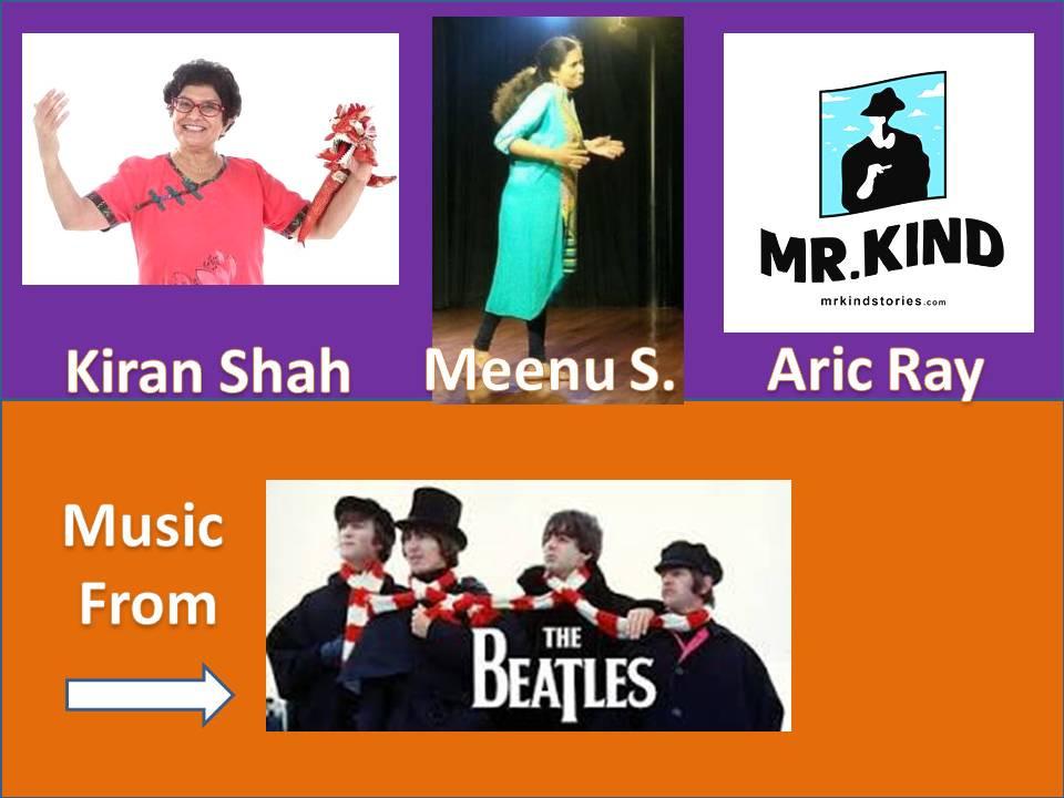 Kiran Shah/Meenu Sivaramakrishnan/Aric Ray/Edwin Sumun/Beatles