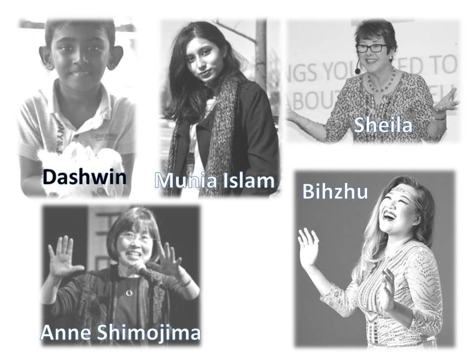 Anne Shimojima/Sheila Wee/Munia Islam/Dashwin Samuel Saravanan/Bihzhu