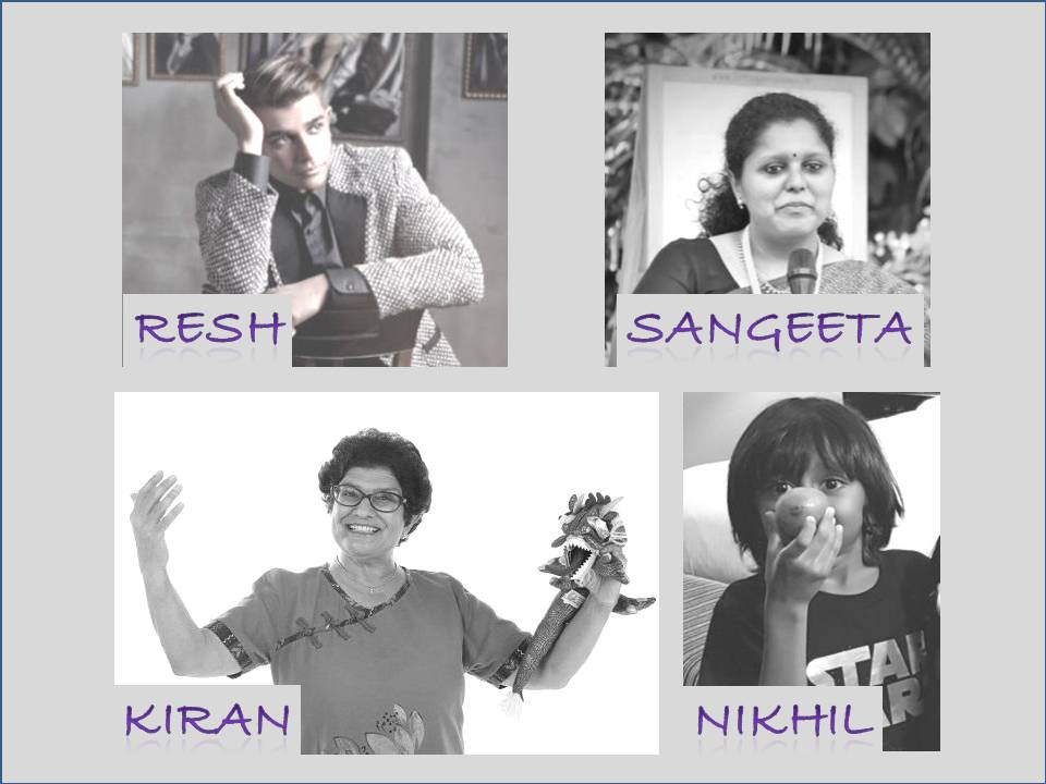 Shanthini Venugopal/Wong Swee Yean/Shyna Nagpal/Resh