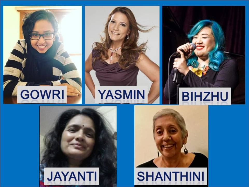 Yasmin Yusoff/Gowri Paary/Dr Jayanthi Bha've/Bihzhu