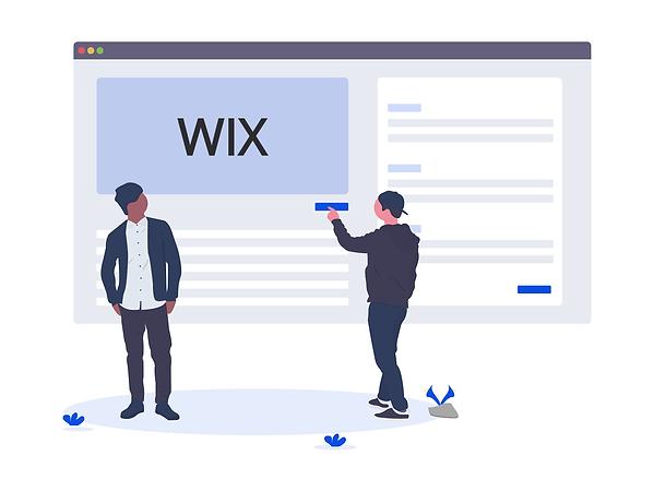 Создание сайта на платформе Wix
