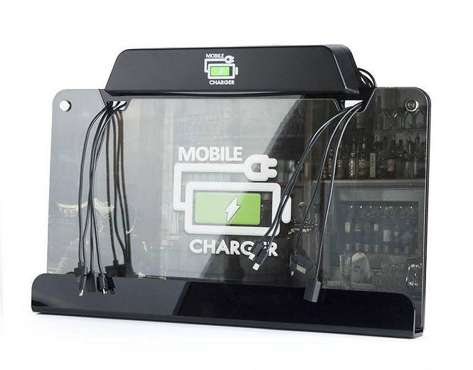 универсальное зарядное устройство Mobile Charger для общественных мест, торговых центров, бизес-центров, универсальное зарядное устройство для любых типов смартфонов и планшетов