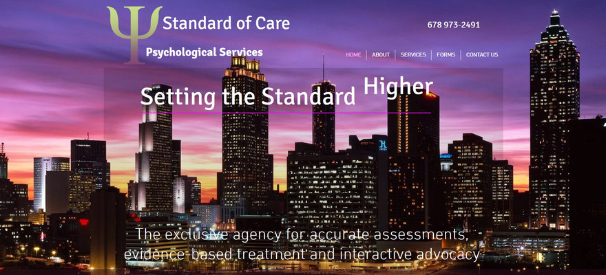 Standard of Care- Psychological Services